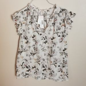 Rebecca Taylor silk top size 6 bnwt